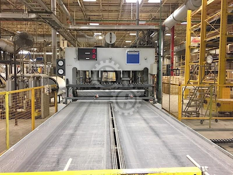 Wemhoner Automated Hot Press Line Hot Presses For