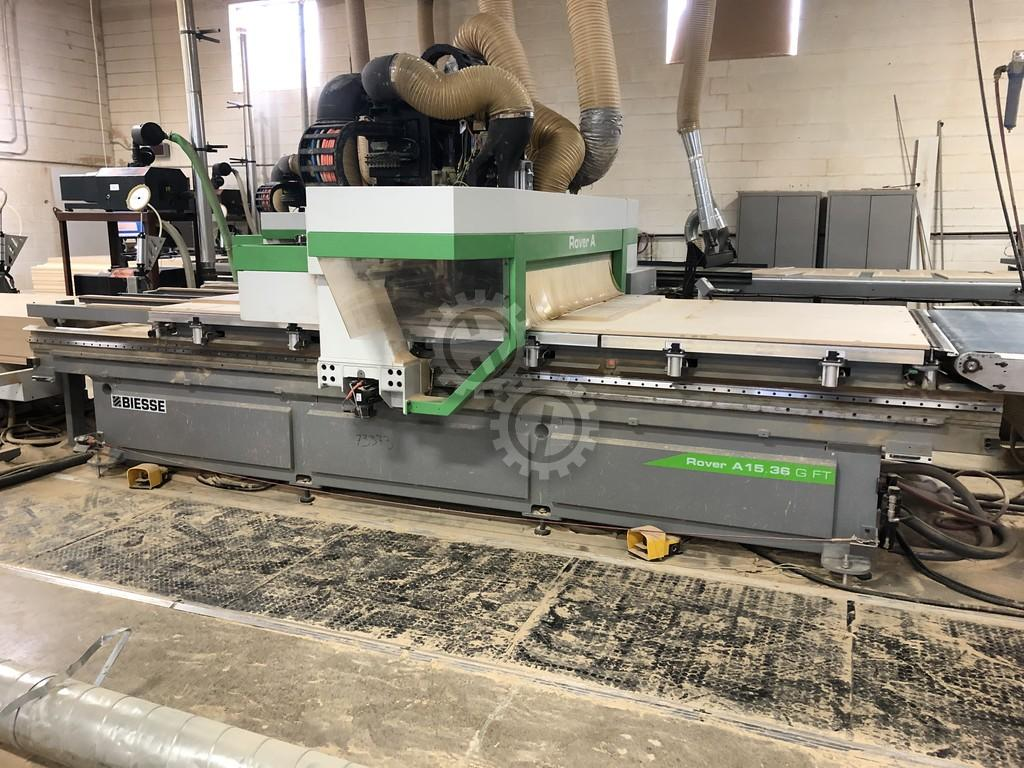 Biesse ROVER A 1536 G FT NBC Cnc Router for Woodworking ...